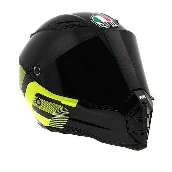 Viewing Images For AGV AX-8 Evo Naked Matte Black Helmet
