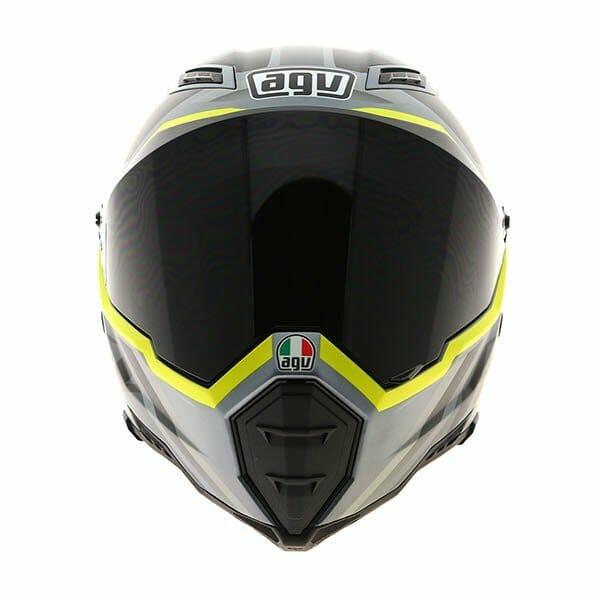 AGV AX-8 EVO Naked Karakum Helmet - RevZilla